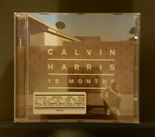 CALVIN HARRIS - 18 Months - CD Album *Bounce, Feel So Close*