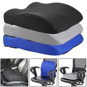 2in1 Memory Foam Seat Cushion Lower Back Lumbar Support Car Office Desk Chair Ebay