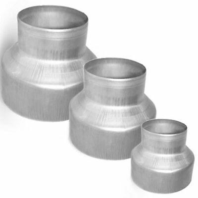 Verbinder Nippel /Ø 80 100 125 150 200 250 mm Wickelfalzrohre Alu-Flex-Rohr 80 mm