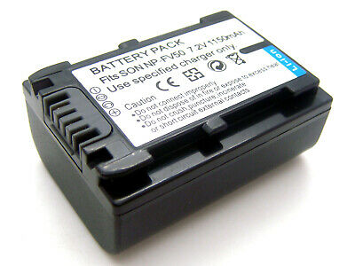Battery Pack for Sony HDR-XR150E HDR-XR160E Handycam Camcorder HDR-XR155E