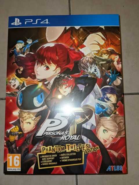 Persona 5 Royal Edition Collector Phantom Thieves PS4 - NEUF - Version Francaise