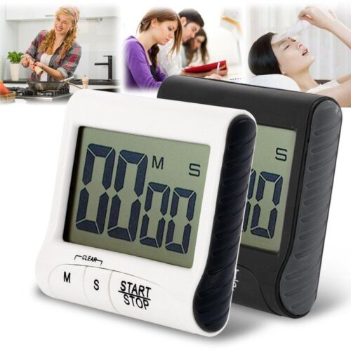 COUNTDOWN TIMER LARGE DISPLAY KITCHEN OVEN BAKING COOKING /& CATERING UK