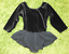 FREESTYLE-Girls-VELVET-Blk-Pink-SEQUIN-GYMNASTIC-LEOTARD-DANCE-BALLET-5-6-7-8-10