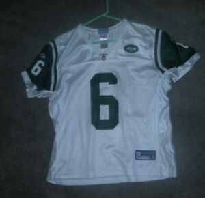 8c9759f80 OFFICIAL NFL TEAM APPAREL WOMEN'S NEW YORK JETS #6 JERSEY LARGE | eBay