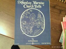 H.P. Hopkins: Sunday Morning Church Bells, piano solo (Flammer)