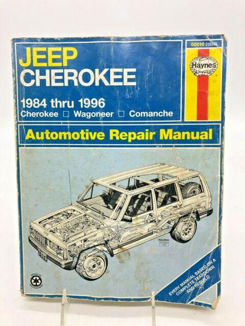 Haynes Jeep Cherokee 1984 To 1996 Cherokee Wagoneer