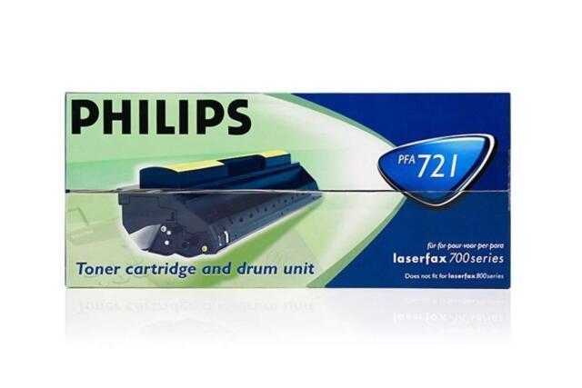 Original Philips PFA721 906115311509 Toner Black for Laserfax 725 A-Ware