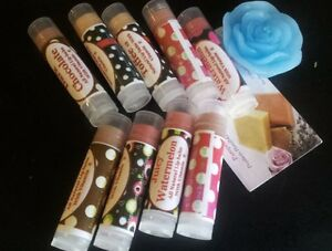 Image is loading Homemade-Handmade-Organic-Tinted-Lip-Balm-Moisturizer-2Pcs-