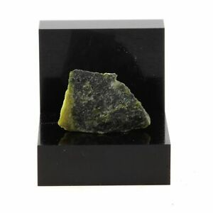 Estrie Modest Peridotite Serpentine-shaped 12.6 Ct Quebec Canada Good For Antipyretic And Throat Soother
