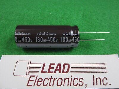 QTY5 Nichicon 2200UF 35V UVZ1V222MHD 2200MFD 35-VOLT 105-DEG Radial Capacitor