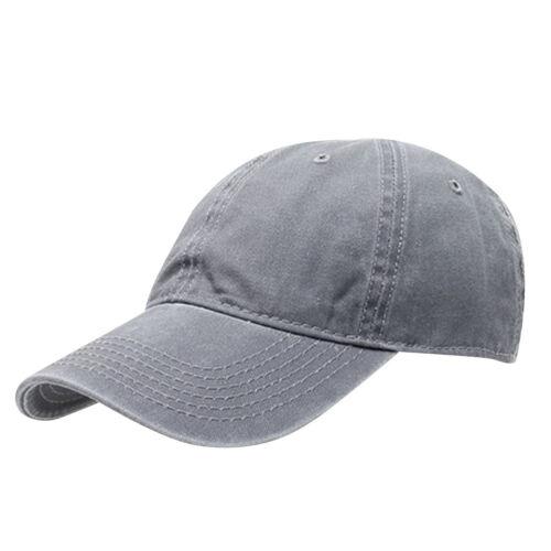 Adjustable Unisex Vintage Cotton Dyed Twill Low Hat Profile Baseball Cap Gift