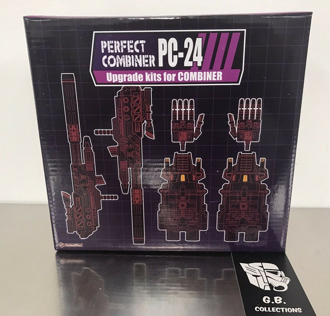 Transformers Perfect Effect Perfect Combiner PC-24 Upgrade Kits NEW SEALED