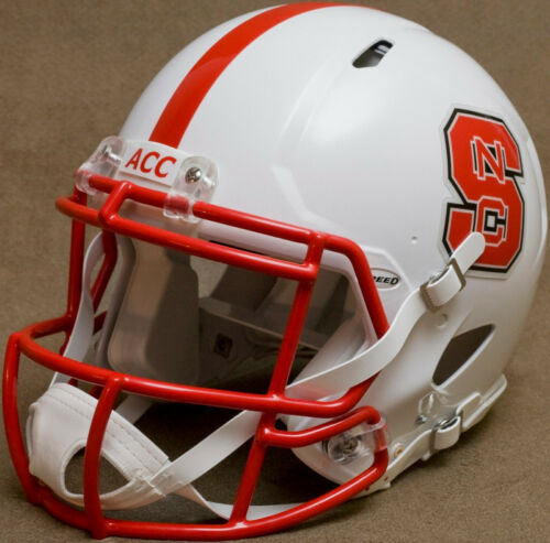 NORTH CAROLINA STATE WOLFPACK Riddell SPEED Full Size Authentic Football Helmet