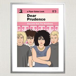 Siouxsie-amp-The-Banshees-Ltd-Ed-30cm-x-40cm-Dear-Prudence-Print-The-Cure-Goth