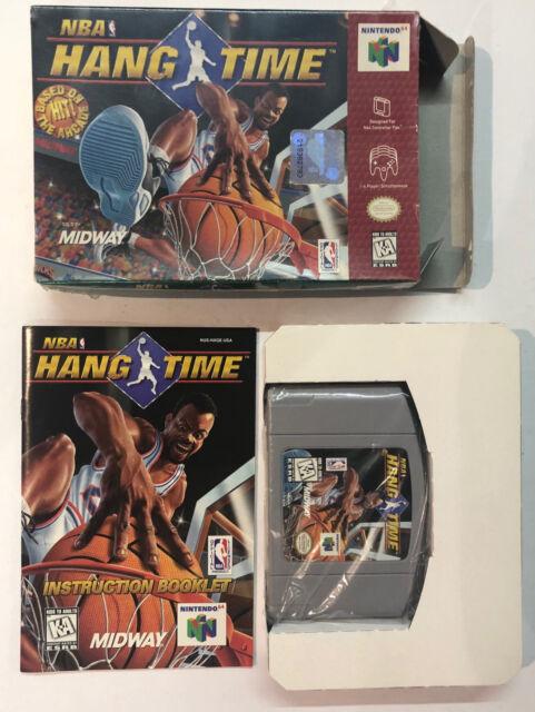 Nintendo 64 BLOCAGE DE LA NBA TIME USA