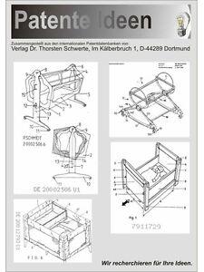 babywiege baby schaukelwagen selbst bauen 30 patente ebay. Black Bedroom Furniture Sets. Home Design Ideas
