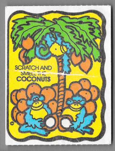 Vintage Mello Smello Scratch /& Sniff Stickers $1.95-$5.95
