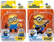 MINIONS WIND-UP FIGURES EXCLUSIVE GUITAR STRUMMING STUART BOPPING ALONG BOB SET