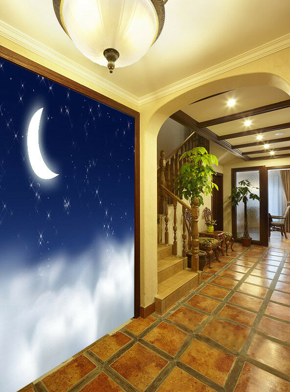 3D Moonlight 569 WandPapier Murals Wand Drucken WandPapier Mural AJ Wand UK Jenny
