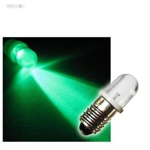 e10 vite base lampadina led verde 12v e-10 lampada luce lampadina | ebay