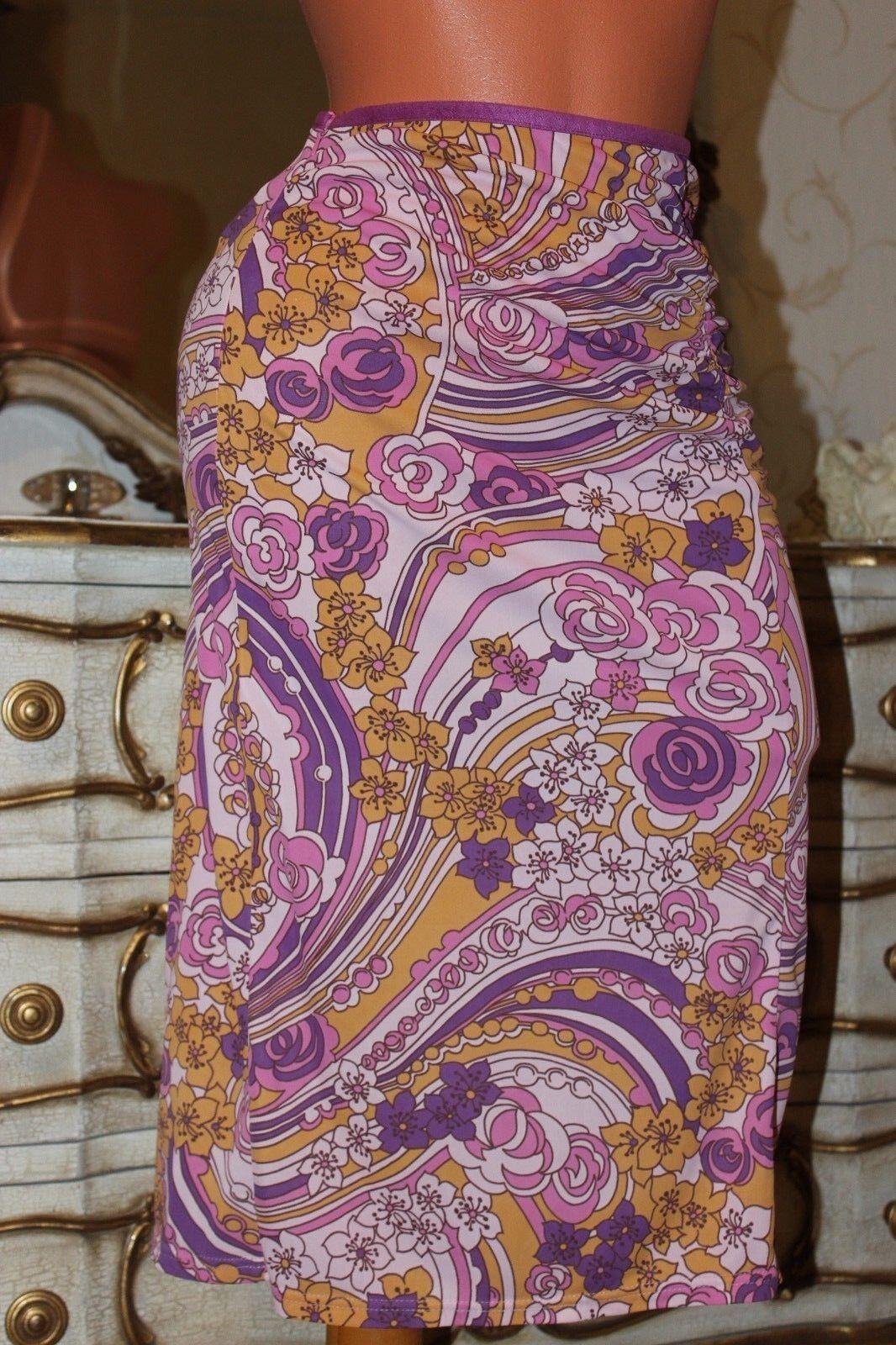 (S9) Karen Millen - straight - floral print  midi skirt - size 8