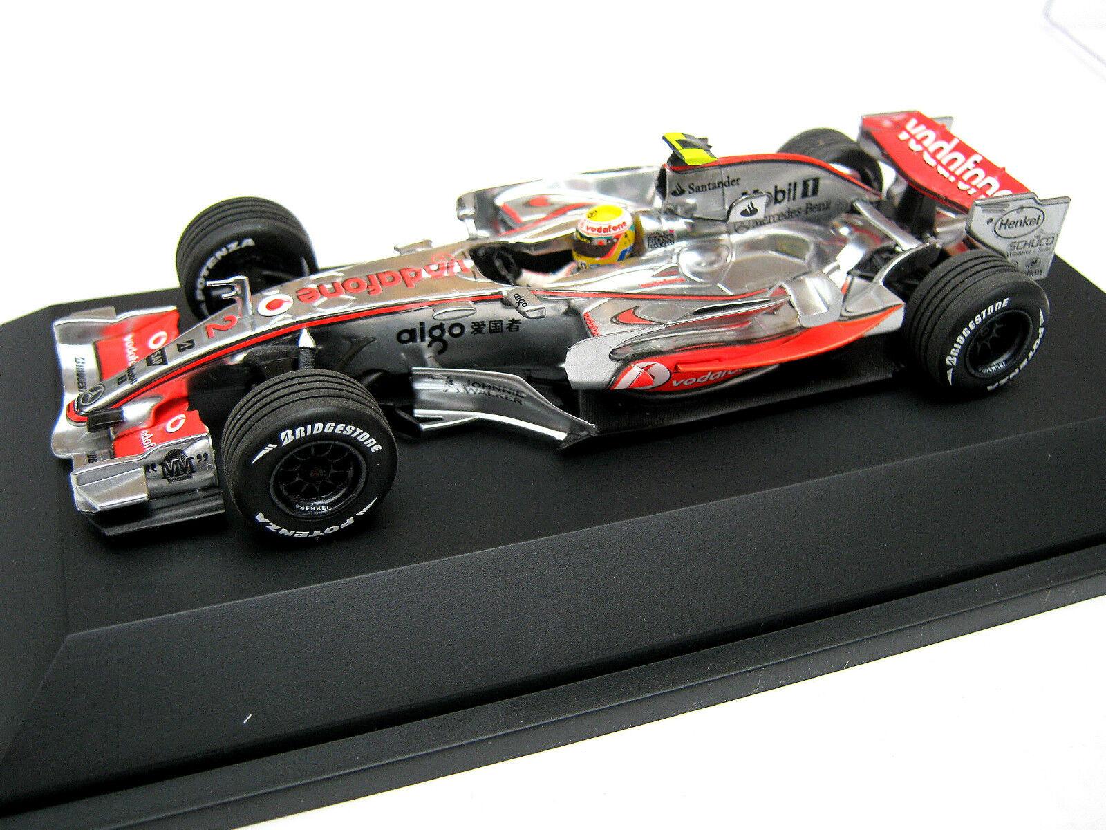 Mclaren Mercedes mp4 22 Hamilton Special Box 2007 f1 world champion 1 43 Nouveau neuf dans sa boîte