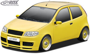 RDX-Frontspoiler-FIAT-Punto-2-188-Facelift-Sporting-Front-Spoiler-Lippe-Ansatz