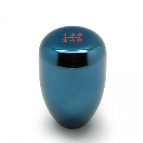 Blox Racing Limited Series Electric Blue Type-R Shift Knob 5-SP # BXAC-00232-TB