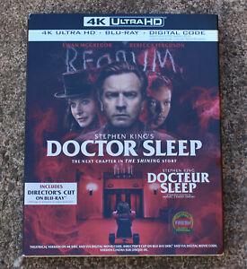 Stephen-King-medico-dormir-4K-Ultra-Bluray-Codigo-Digital-Con-Slipcover-Nuevo