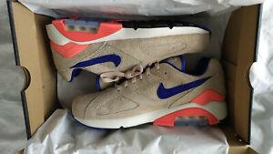 65ac955749 Nike Air Max 180 ID Ralph Steadman Size 10 Tan Ultramarine Huncho ...