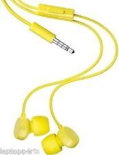 Nokia Lumia 530 635 735 WH-208 Headphones Handsfree Yellow