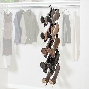 Image Is Loading Boot Tree Organizer Rack Shaper 5 Pair Stand