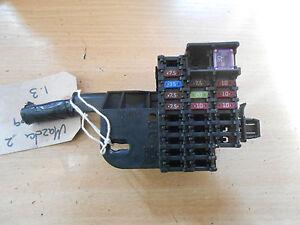 mazda 2 de 2009 1 3 16v zj interior under dash dashboard fuse box rh ebay co uk Mazda 5 Fuse Box Diagram mazda 2 2009 fuse box diagram