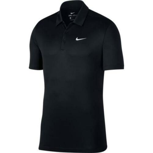 Nike Men/'s Performance Polo Shirt 905942-010 Black