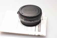 CANON EXTENSION TUBE EF12 II/EF 12  W/CAPS