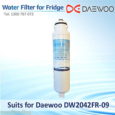 2 x Westinghouse  Fridge Filter  Compatible  model  3019986720  fits  WHE7670SA