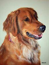 Custom Pet Painting Pet Portrait Commission Animal Artist Sharon Lamb Life Like