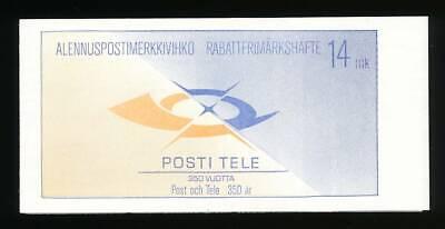 100% Waar 183235) Finnland Markenheft Nr.20** Postdienst