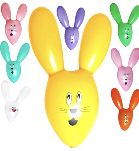 50pcs Cute Rabbit Ears Latex Balloons Party Favours Kids Birthday Supplies 35cm