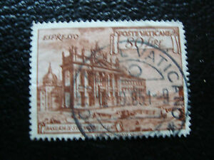 Vatican-Stamp-Yvert-and-Tellier-Express-N-12-Obl-A11-Stamp