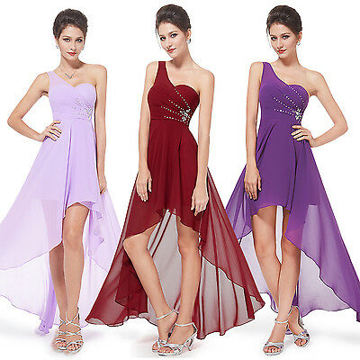 High-low Bridesmaid Evening Party Homecoming Prom Gown Dress 08100 Ever Pretty