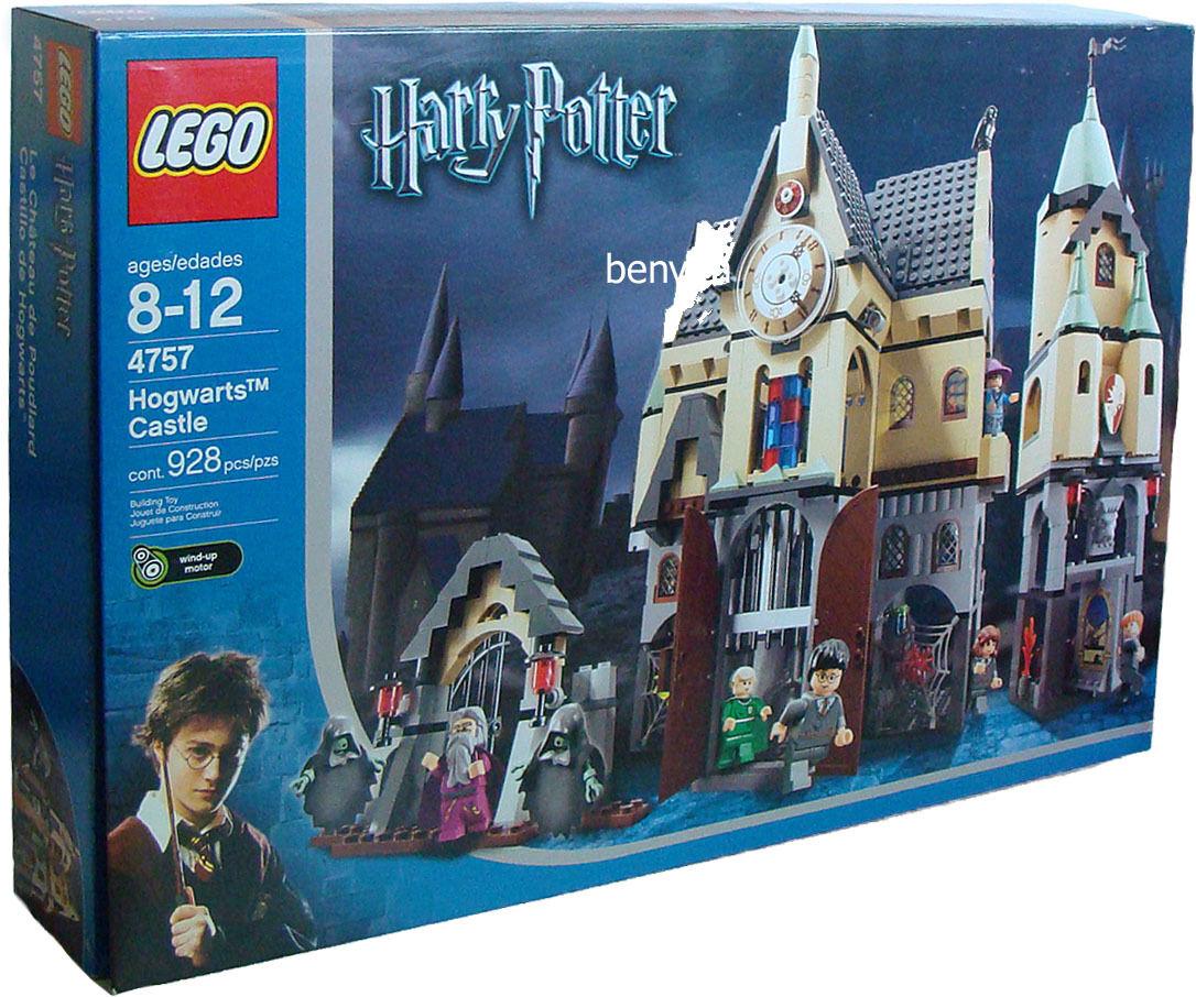 LEGO® Harry Potter 4757 - Castillo de Hogwarts 928 piezas de 8 a 12 años de Neu nuevo