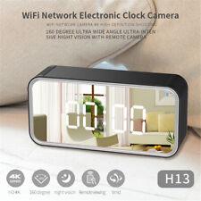 SecureGuard 4K Ultra HD WiFi Alarm Clock Radio Hidden Nanny Cam UHD Spy Camera