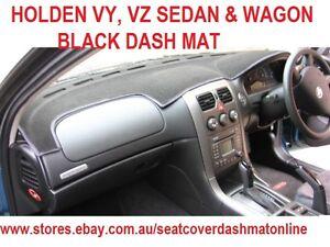 Black Dashmat for HOLDEN Commodore VY-VZ 1//2003-1//2006 Dash Mat DM886B