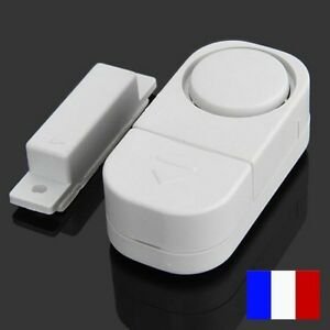 Alarme sir ne anti effraction intrusion porte fenetre de maison caravane garage ebay - Porte de garage anti effraction ...