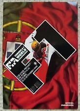 PORTUGUESE GRAND PRIX FORMULA ONE 1990 F1 ESTORIL Official Programme