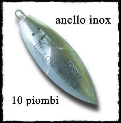 10 Piombo Tommy Anello Inox Pesca Surfcasting Lancio Tecnico Surf Casting Per Soddisfare La Convenienza Delle Persone