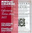 Mikolaj Zielenski: Offertoria Totius Anni 1611 - Opera Omnia, Vol. 2 (CD, Mar-2012, Dux Records)