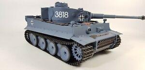 UK-Radio-Remote-Control-RC-Military-TANK-HENG-LONG-2-4G-German-Tiger-V6-0-Model