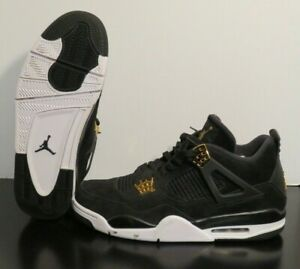 Nike Air Jordan 4 Retro Royalty Men s Shoes (308497-032) - Black ... 690f5c587